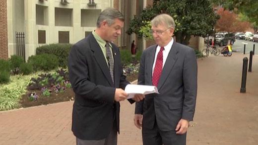 Left, Mike Farruggio; Right, Buddy Weber