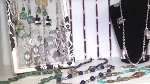 Jewelry made by artists in the region will be sold at the holiday fair.