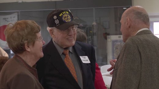 WWII veterans honored in Keswick