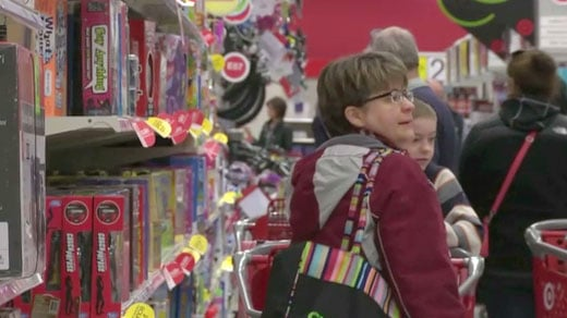 Shoppers hit Target in Albemarle County