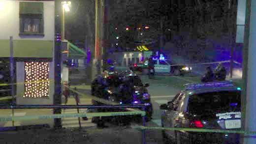 Police investigating scene outside Elks Lodge in March