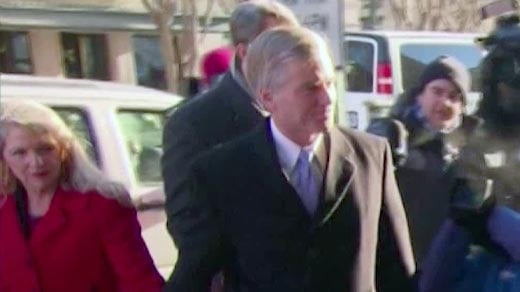 Bob and Maureen McDonnell arrive at court.