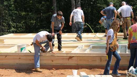 Fluvanna County Habitat Construction