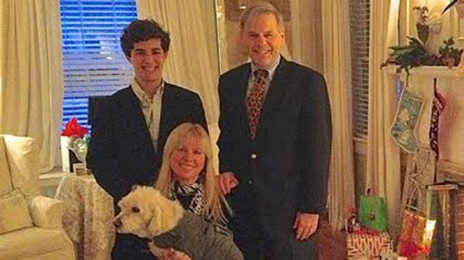 Delegate David Toscano with his family, photo courtesy of Facebook.com