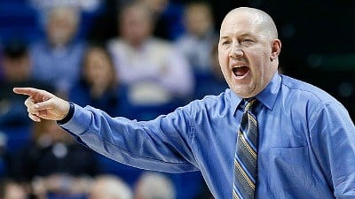 Virginia Tech head coach Buzz Williams