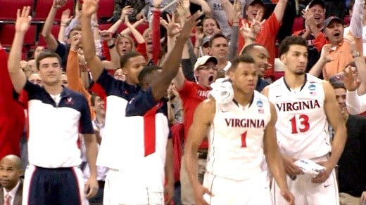 'Hoos Advance to Sweet 16