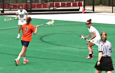 Courtney Swan had two goals and three assists