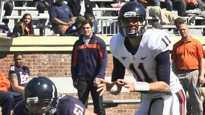 Greyson Lambert has been named UVa's starting quarterback