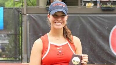 UVa's Danielle Collins Reflects on Winning NCAA Singles ...