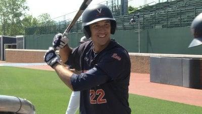 UVa shortstop Daniel Pinero