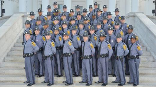 121st Basic Session Graduation Day photo courtesy of Virginia State Police