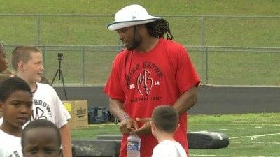 Jacksonville Jaguars wide receiver Mike Brown