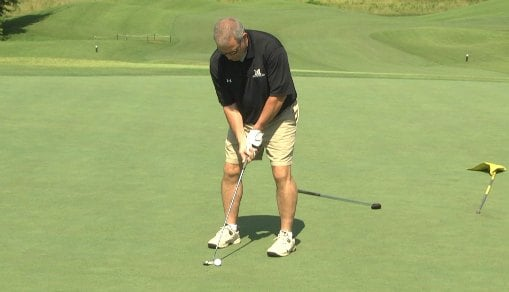 Monticello fans, parents and coaches took part in the golf tournament