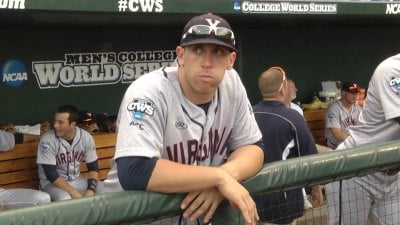 Catcher Nate Irving will try to slow down Vanderbilt