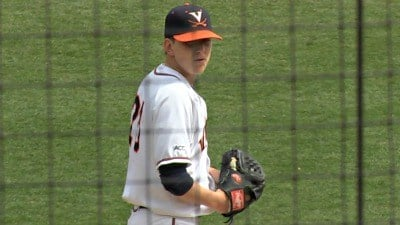 Brandon Waddell pitched the first complete game of his college career Tuesday vs Vanderbilt