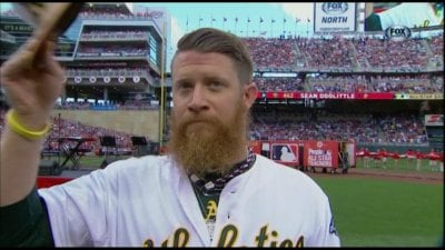 The Washington Nationals acquired Sean Doolittle from the Oakland A's