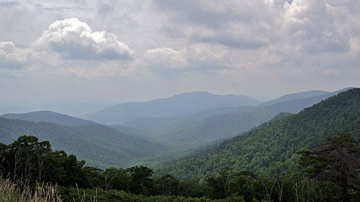 Shenandoah National Park photo courtesy of Wikipedia