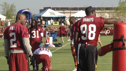 The Redskins placed the franchise tag on Brian Orakpo during the 2014 offseason