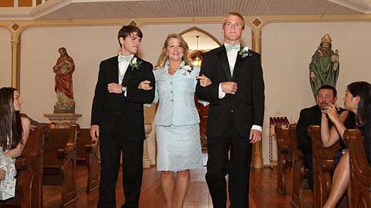 Maureen McDonnell at her daughter's wedding