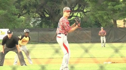 Kevin Doherty on the mound for Waynesboro
