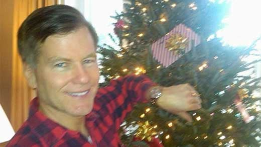Bob McDonnell wearing the Rolex watch