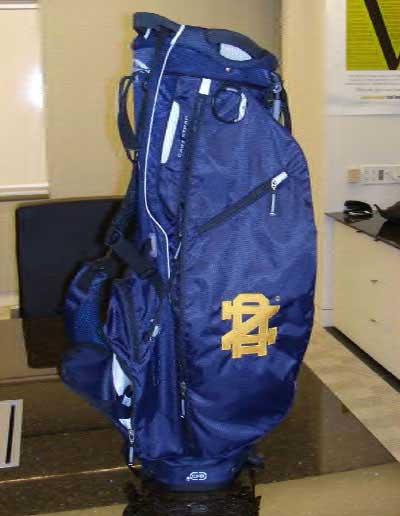 Golf bag Williams gave to Bob McDonnell