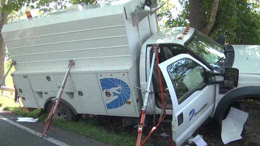 Dominion truck crash