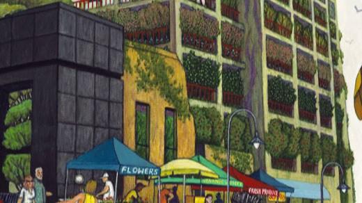 Vertical garden proposal
