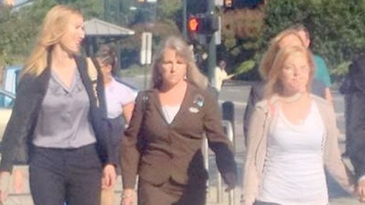 Maureen McDonnell arriving at court.