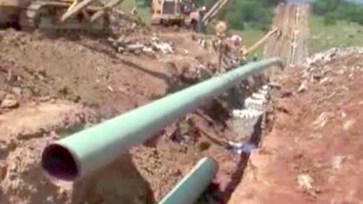 File Photo:  Natural Gas Pipeline