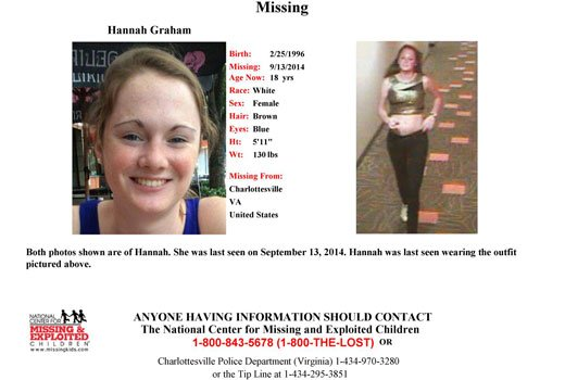 Search for missing uva student moves to downtown mall nbc29 wvir