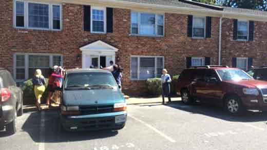 File Image: Investigators searching Jesse Matthew's apartment