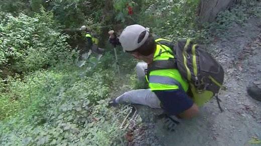 Crews search for Hannah Graham
