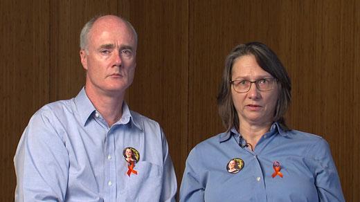 John and Sue Graham, Hannah Graham's parents