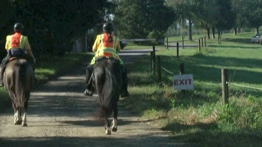 Crews search on horseback for Hannah Graham