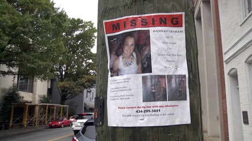 Hannah Graham missing person poster