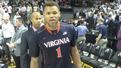 UVa junior guard Justin Anderson