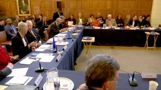 UVA Board of Visitors meeting