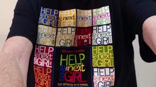 Help Save The Next Girl Limited Edition T Shirt