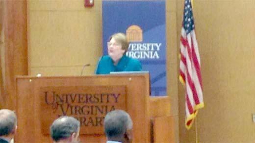 File Photo:  UVA President Teresa Sullivan