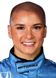 Danica patrick and shaved head