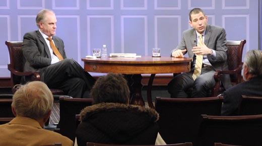 Yochi Dreazen speaking at the Miller Center