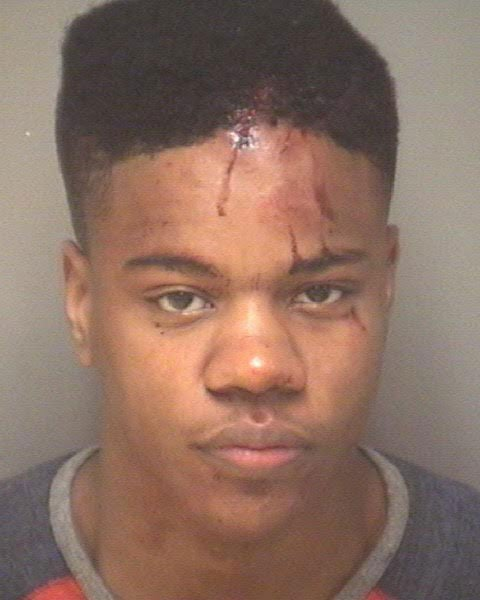 Martese Johnson Booking Photo