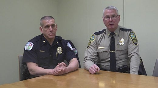 Chief Tim Longo and Col. Steve Sellers