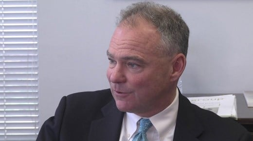 File Image: U.S. Senator Tim Kaine (D-VA)
