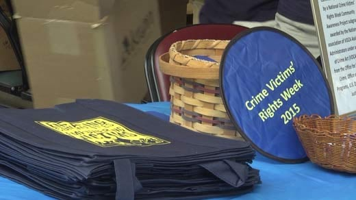 The Community Day was held to kick off the Crime Victims' Rights Week.