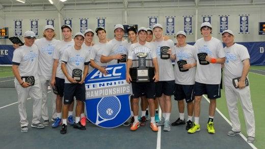 UVa Men's Tennis Wins 9th Consecutive ACC Title - WVIR ...