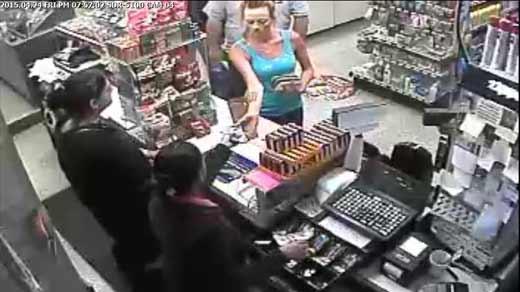 Waynesboro PD's suspect in robbery.