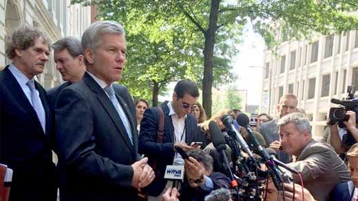 Former Governor Bob McDonnell exiting appeals court
