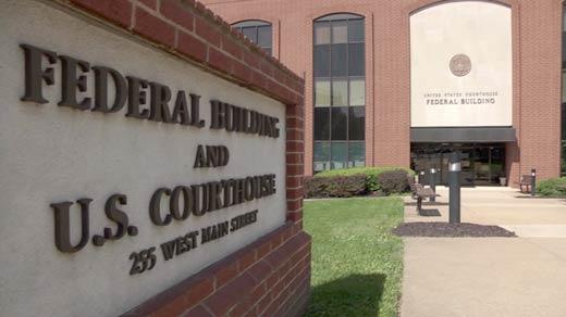 File Photo: U.S. District Court in Charlottesville